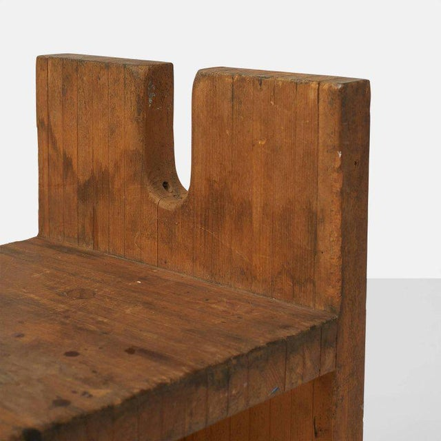 1980s Side Chair by Lina Bo Bardi For Sale - Image 5 of 7