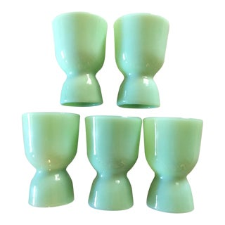 Fire King Egg Cups - Set of 5 For Sale