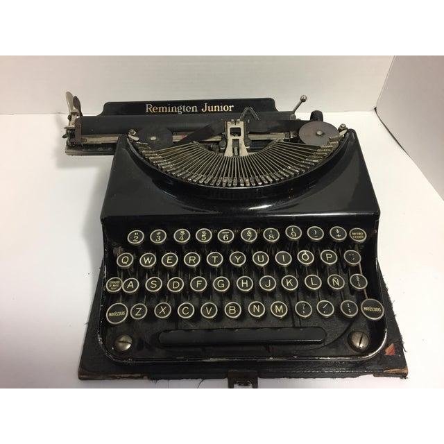 Remington Rand Antique Remington Spanish Typewriter For Sale - Image 4 of 10