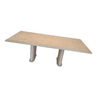 Kreiss Travertine Dining Table