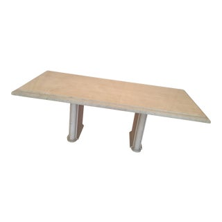 Solid Travertine Dining Table - Perfect and Incredible