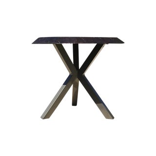 Castelle Park Place Altra Live Edge Outdoor Side Table For Sale