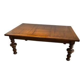 Quadrus Rada Walnut Coffee Table For Sale