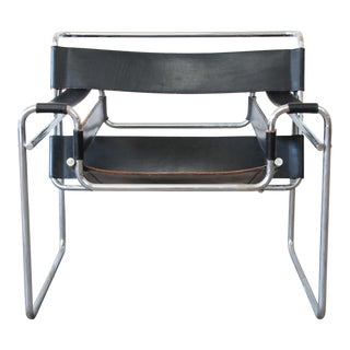Marcel Breuer for Stendig Vintage Wassily Chair - 4 Available For Sale