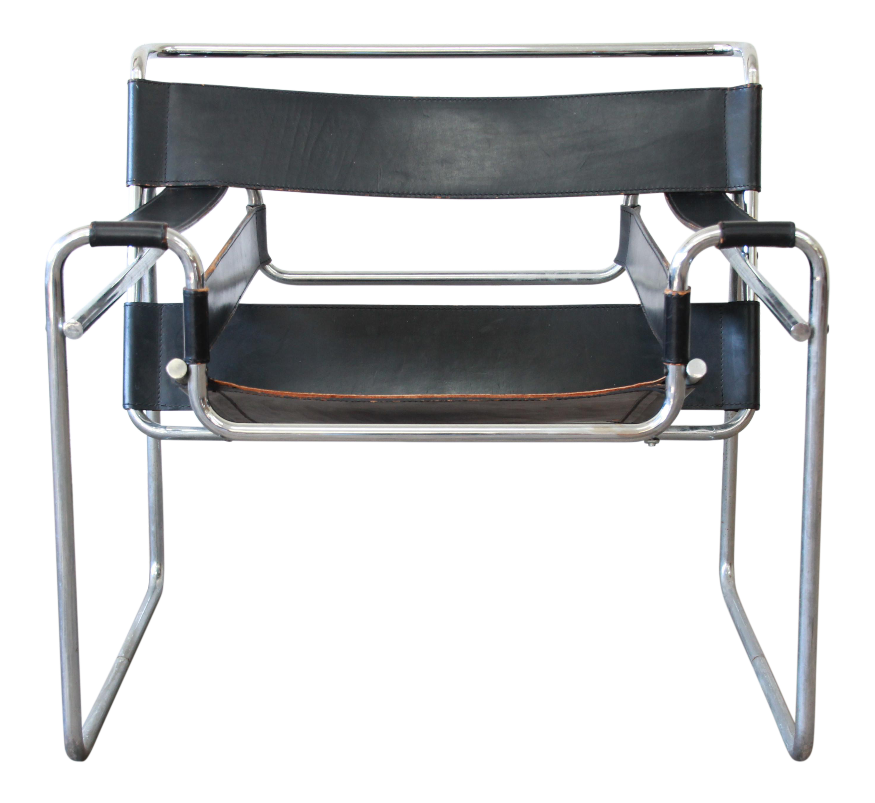 Marcel Breuer For Stendig Vintage Wassily Chair   4 Available