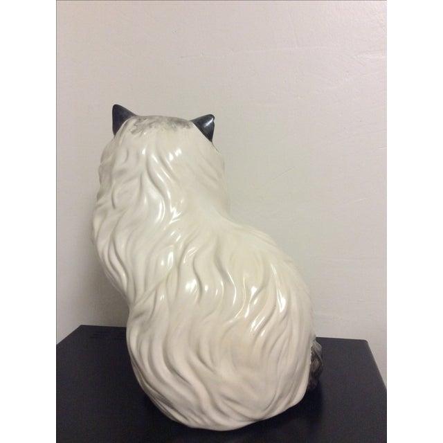 Antique Porcelain Cat - Image 5 of 9