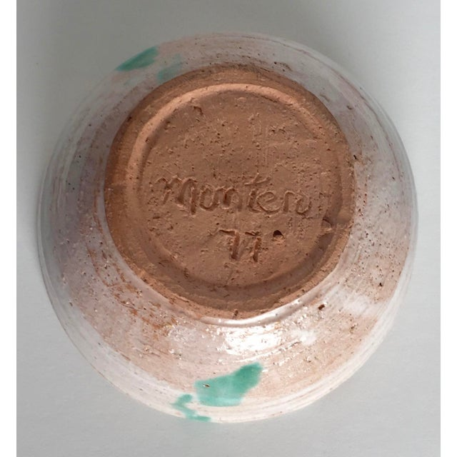 Artistic Signed Pottery - 3 For Sale - Image 7 of 10