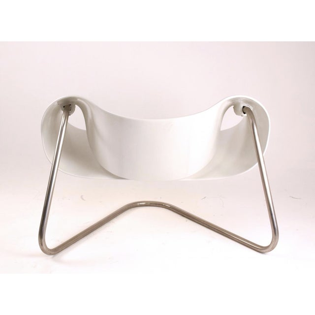 Cesare Leonardi and Franca Stagi 1960s Vintage Cesare Leonardi/Franca Stagi Ribbon Chair For Sale - Image 4 of 9