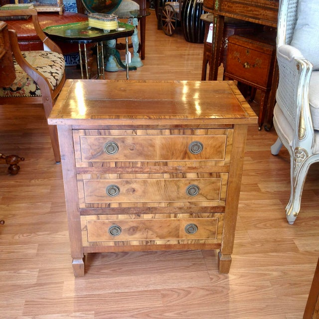 Brown Pair of Italian Chair Side Chests For Sale - Image 8 of 13