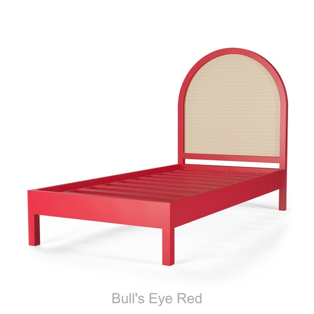 Eva Bed - Twin - Bull's Eye Red For Sale - Image 4 of 4