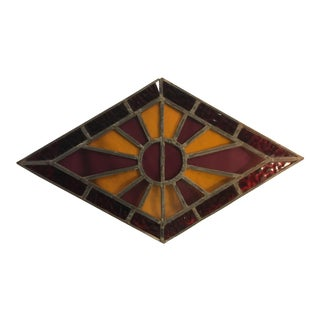 Anitque Stained Glass Window For Sale
