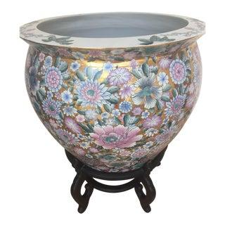 Asian Style Koi Pot For Sale