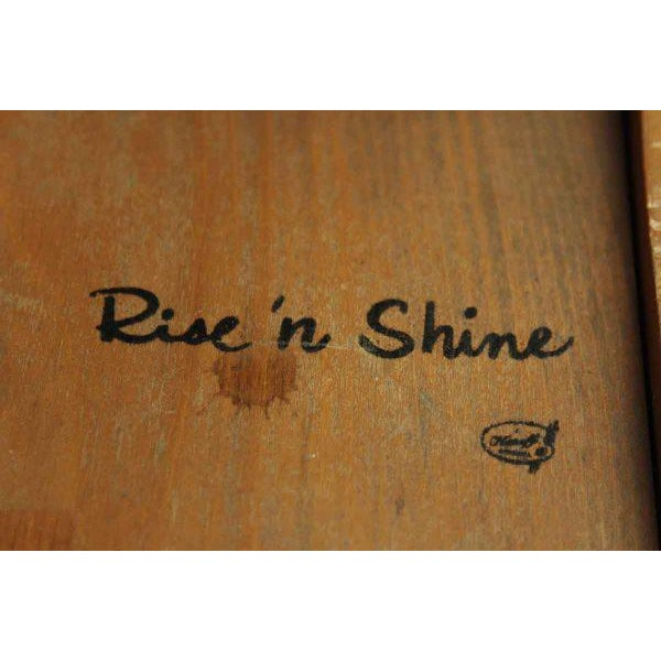 Olde Wood Rise N Shine Shoe Stand - Image 7 of 8