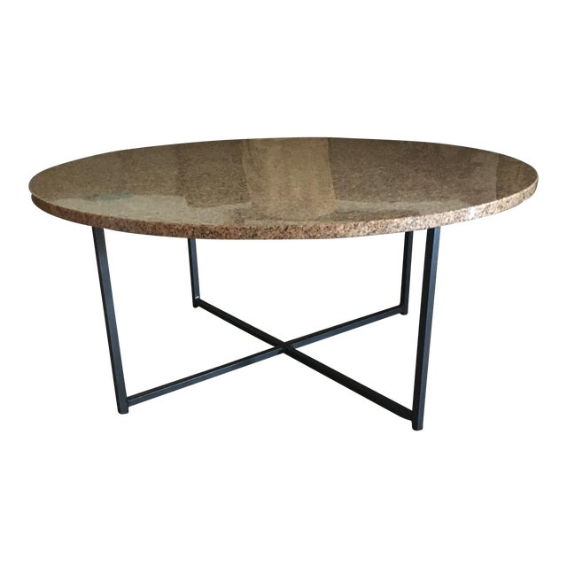 Room Board Round Granite Table Top Only Chairish - 36 round marble table top