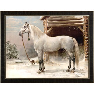 Russian Full Bred Horse Giclee Print by Eerelman, Framed For Sale