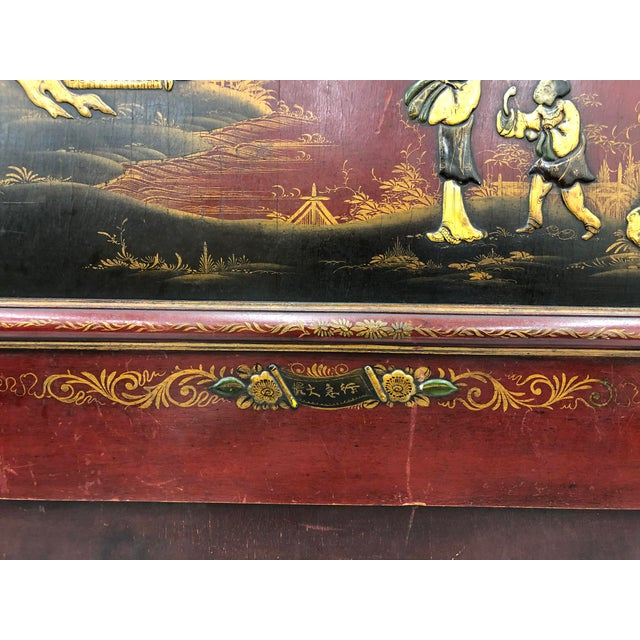Antique Chinoiserie Bed For Sale - Image 10 of 13