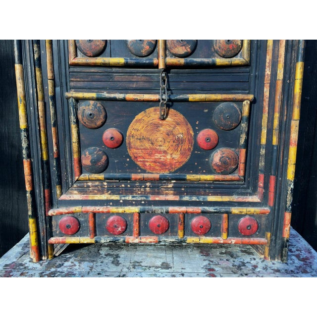 Antique Punjab Dowry Cupboard-Cabinet - Image 8 of 11