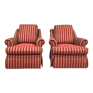 Vintage Henredon Armchairs - a Pair For Sale