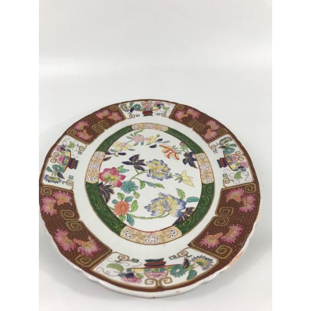 Asian Ashworth Real Inronstone China Imari Oval Platter For Sale - Image 3 of 7