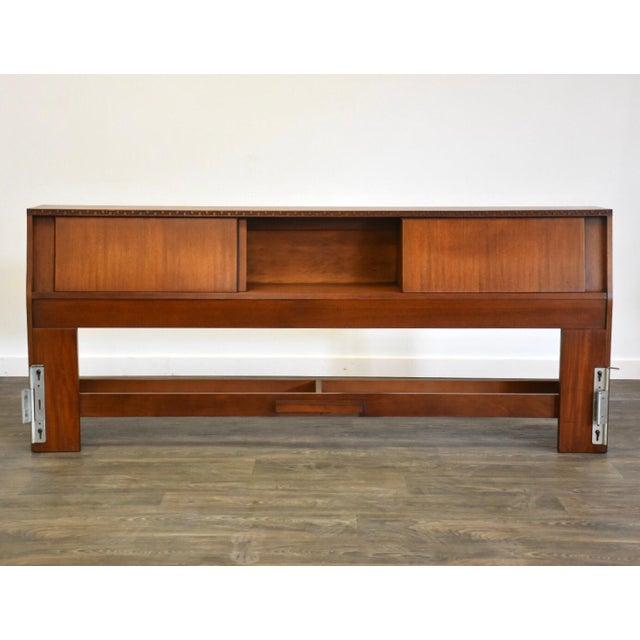 Henredon Frank Lloyd Wright for Henredon Taliesin King Headboard For Sale - Image 4 of 13
