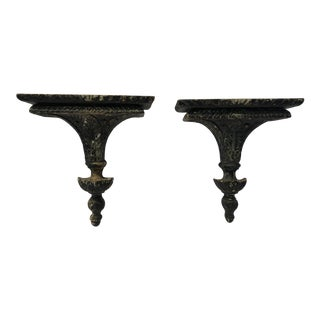 Vintage Wall Brackets - a Pair For Sale