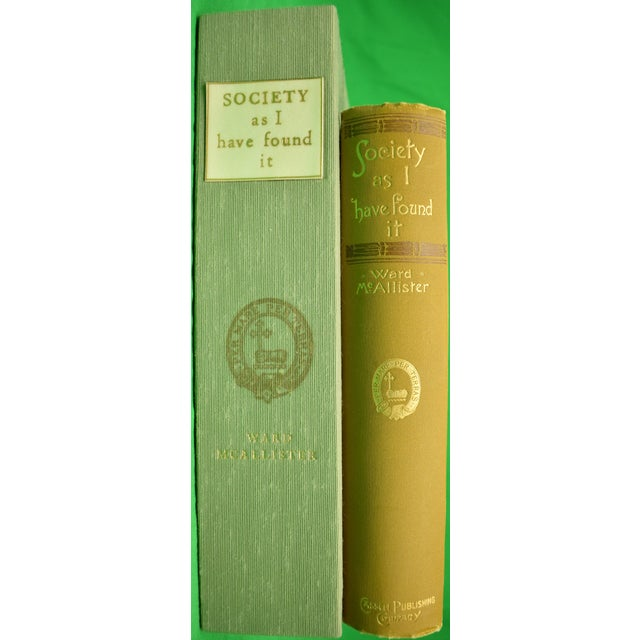 "Late 20th Century ""Society as I Have Found It"" 1890 Ex-Edith Wharton For Sale - Image 5 of 10"