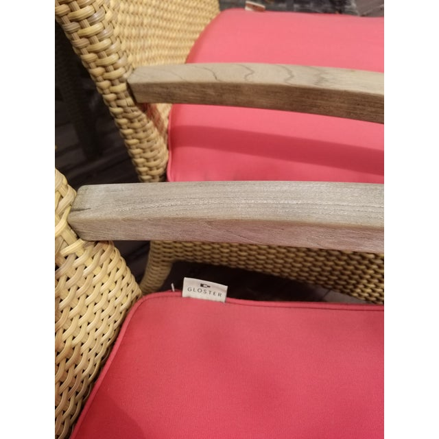 Gloster is known for thoughtfully crafted outdoor furniture pieces that set a mood. These outdoor dining chairs take a...