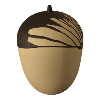 Ceramic Clay Earthen Sculpture Vessel