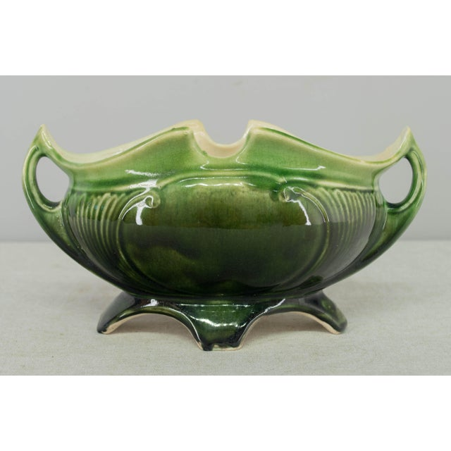 French Art Deco Majolica Set - 3 Pieces For Sale In Orlando - Image 6 of 11