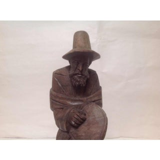 Vintage Tyrolean Hand Carved Wood Figure of a Man From Italy Preview