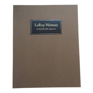 1970's Vintage LeRoy Neiman Retrospective Minnesota Museum of Art Catalog Book For Sale