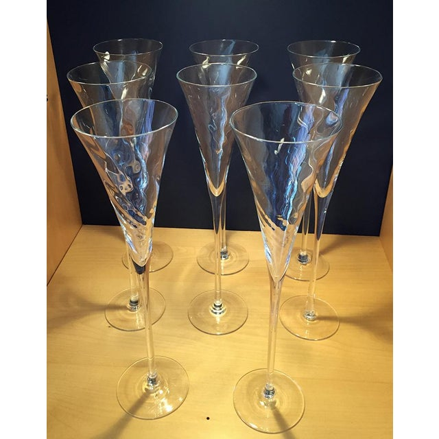 Champagne Flutes - 8 - Image 3 of 6