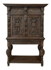 Image of Renaissance Revival Storage Cabinets and Cupboards