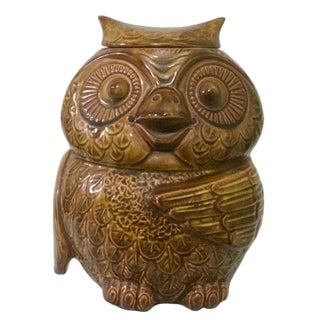 Vintage McCoy Owl Cookie Jar For Sale