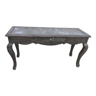 Southwestern Entry Table/Console With Slate Insert For Sale