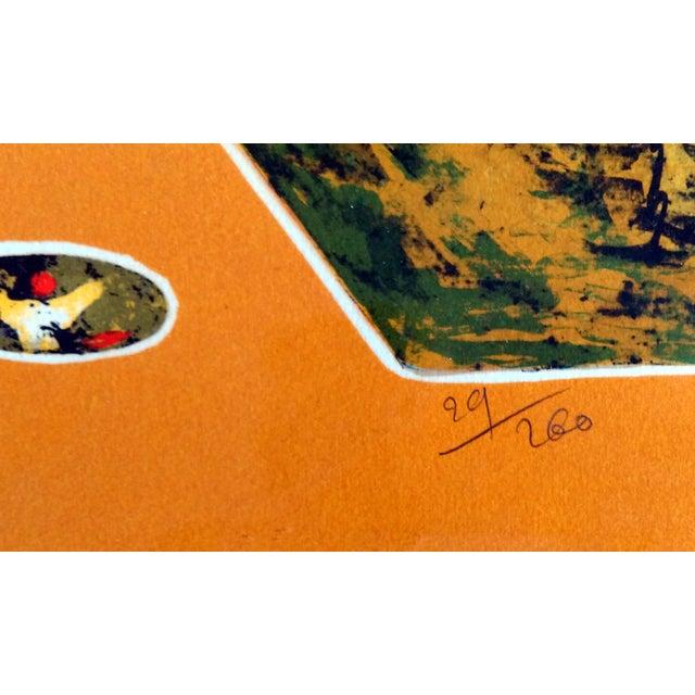 """Bord du Lac I"" Lithograph by Hoi Lebadang - Image 5 of 11"