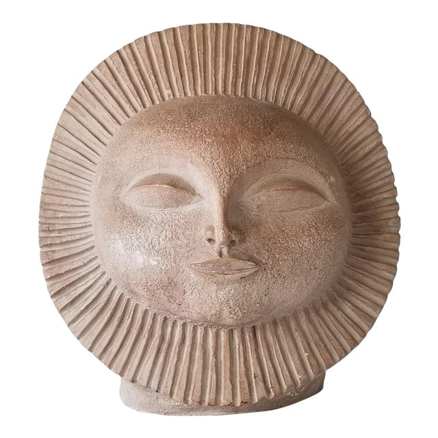 1969 Vintage Sun Sculpture by Paul Bellardo For Sale