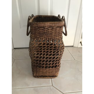 Star Weaved Basket Shopping Bag Preview
