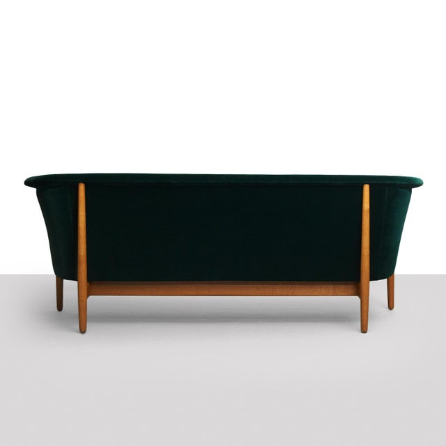 1950s Nanna Ditzel Curved-Arm Sofa For Sale - Image 5 of 9