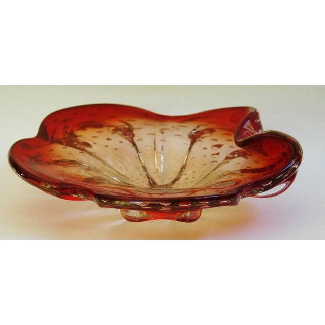 Mid-Century Italian Murano Glass Dish - Image 5 of 7