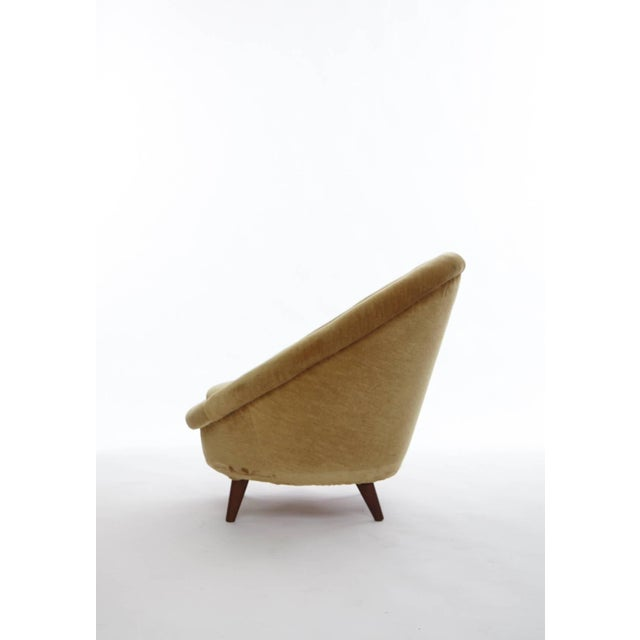 1950s Norwegian Egg Chair For Sale - Image 4 of 8