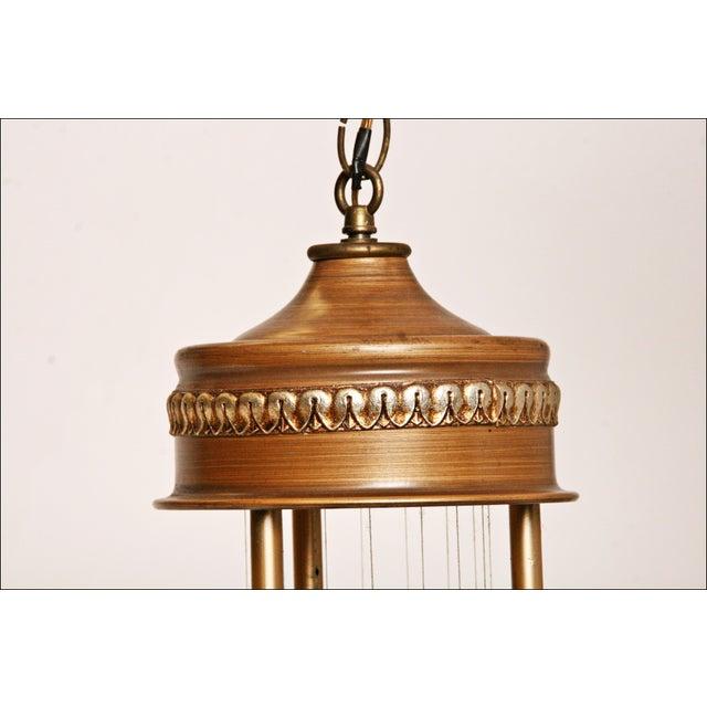 Vintage Mineral Oil Hanging Lamp - Image 7 of 11