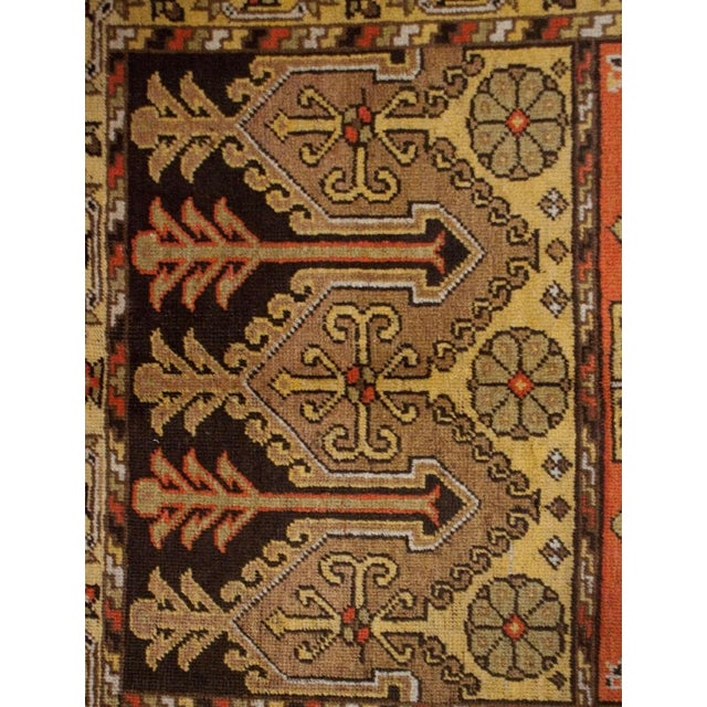 """Early 20th Century Khotan Rug - 60"""" x 102"""" For Sale In Chicago - Image 6 of 6"""