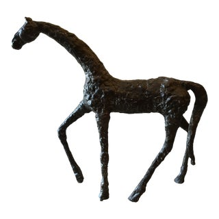 Walking Horse Sculpture