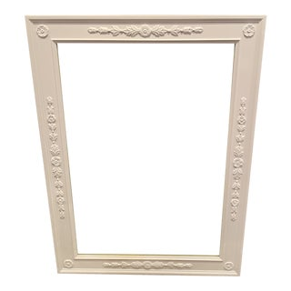 Kindel French Style Wall Dresser Mirror White For Sale
