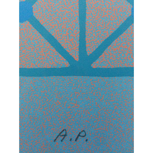 1973 Op-Art Silkscreen Signed Bay Area Artist For Sale In New York - Image 6 of 10