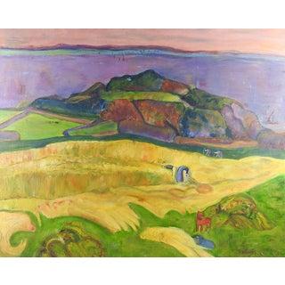 Fauvist Landscape Painting For Sale