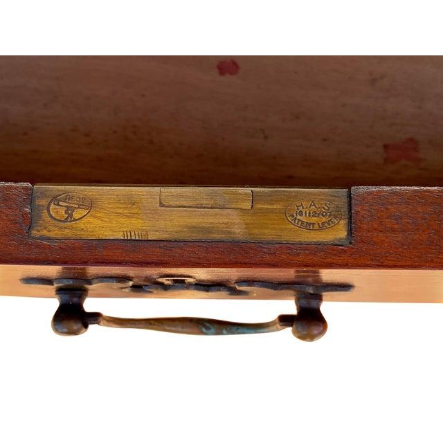 Wood George III Fiddleback Mahogany Side Cabinet For Sale - Image 7 of 9