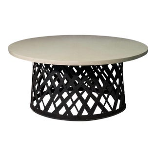 Basket Weave Dining Table For Sale