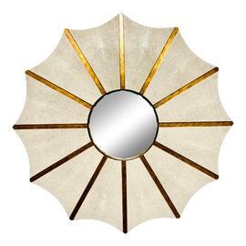 Image of Hollywood Regency Sunburst Mirrors